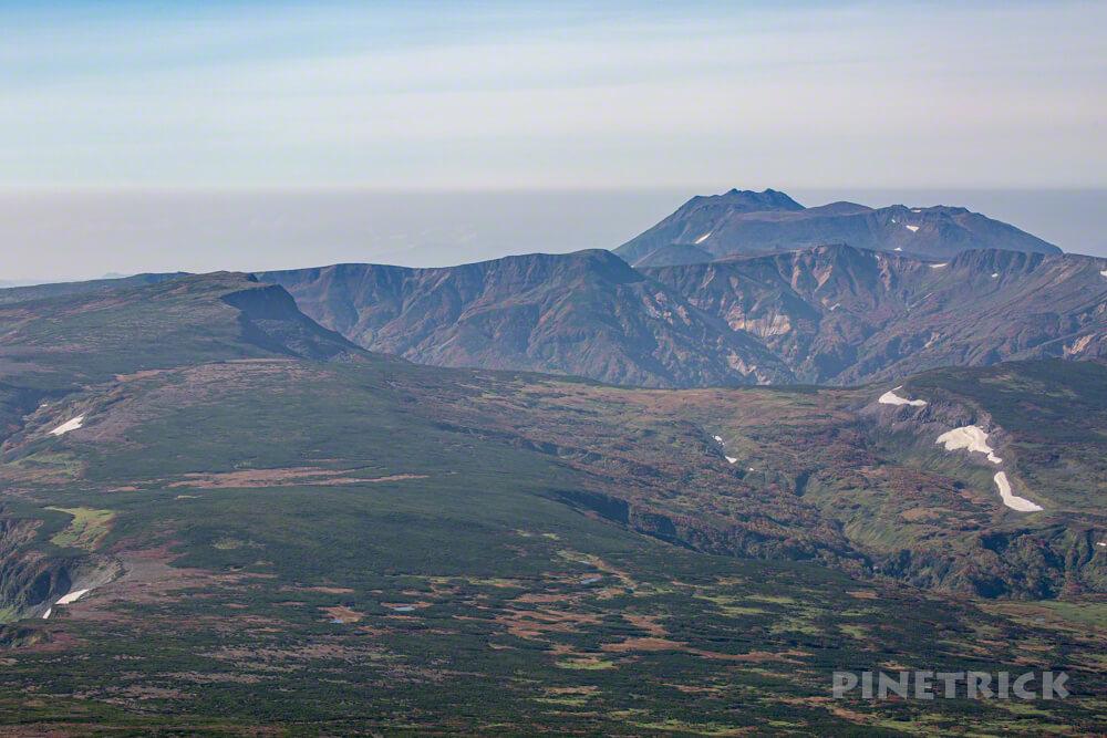 白雲岳 登山 北海道 トムラウシ山 高根ヶ原