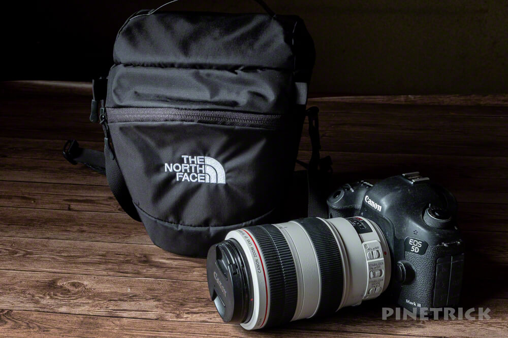 カメラバッグ 望遠レンズ EF70-300  登山 ノースフェイス エクスプローラーカメラバッグ