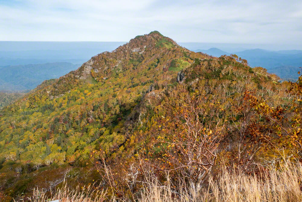 夕張岳 登山 北海道 紅葉 望岳台